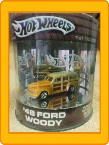 Hot Wheels Wagon Wheels Series '48 Ford Woody  2004 (Oil Can)