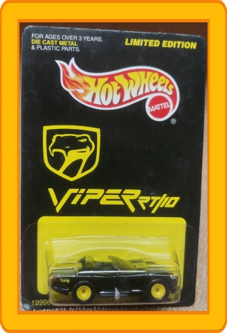 Hot Wheels Limited Edition Viper RT/10