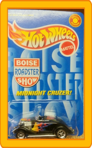 Hot Wheels Boise Roadster Show Special Edition Midnight Cruzer