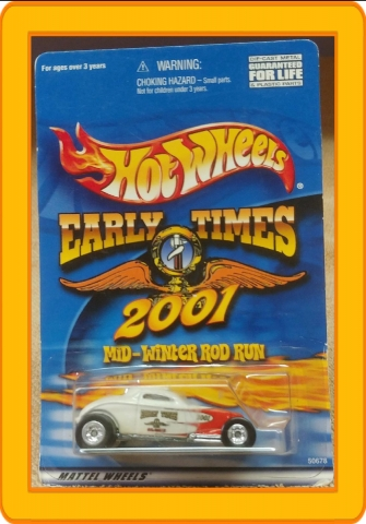 Hot Wheels Early Times 2001 Mid-Winter Rod Run So Fast