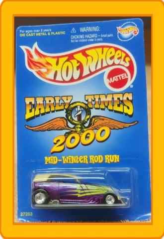 Hot Wheels Early Times 2000 Mid-Winter Rod Run Phaeton