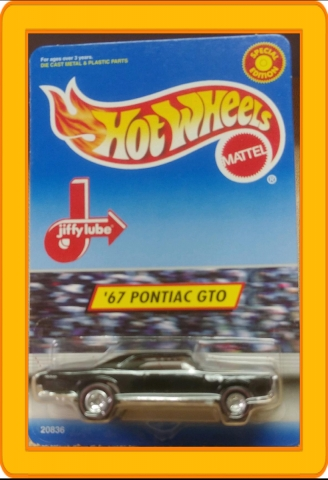 Hot Wheels Special Edition Jiffy Lube '67 Pontiac GTO