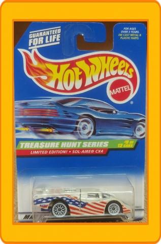 Hot Wheels Treasure Hunt Sol-Aire CX4
