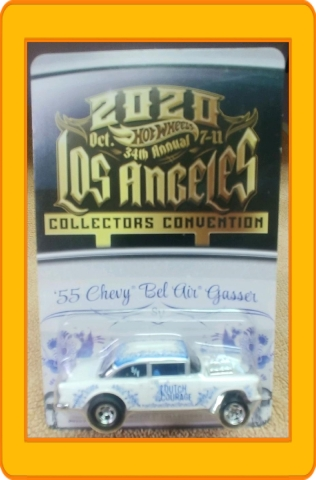 34th Annual Hot Wheels Collectors Convention '55 Bel Air Gasser 2020