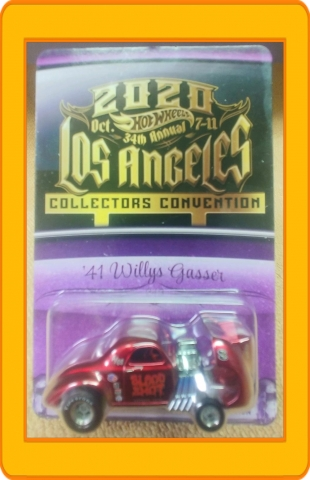 34th Annual Hot Wheels Collectors Convention '41 Willys Gasser