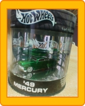 Hot Wheels  Custom Crusier Series  '49 Mercury  2003 (Oil Can)