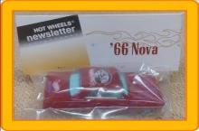 Hot Wheels Newsletter 21st Annual Convention '66 Nova