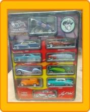 Hot Wheels Larry Wood's 35th Anniversary Commemorative Classics 10 Car Set