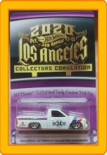 34th Annual Hot Wheels Collectors Convention 93 Nissan D21 Hard Body Custom Pick Up